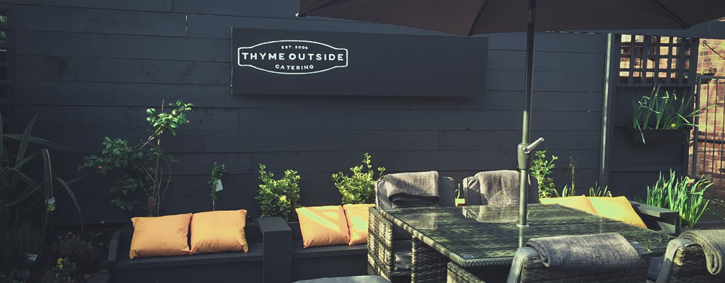 Outdoor eating just got better… our back garden area is now open!